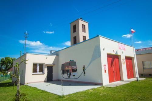 Budynek Ochotniczej Straży Pożarnej.