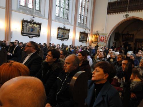 Podczas występu kościół wSmogorzowie był wypełniony pobrzegi.